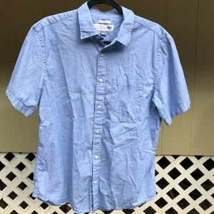 Old navy light blue classic collard men's shirt